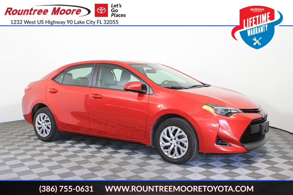 Lake City Toyota >> Pre Owned 2019 Toyota Corolla Le 4d Sedan In Lake City J012617a